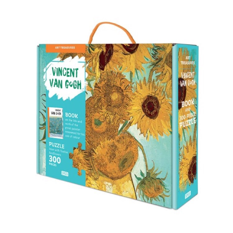 Sassi Puzzle & Book Set - Art Treasures Vincent Van Gogh - Rourke & Henry Kids Boutique