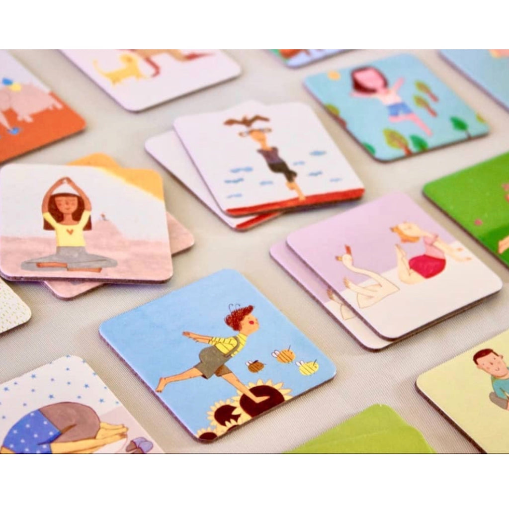 Yoga - Yogi Fun Dominoes - Rourke & Henry Kids Boutique