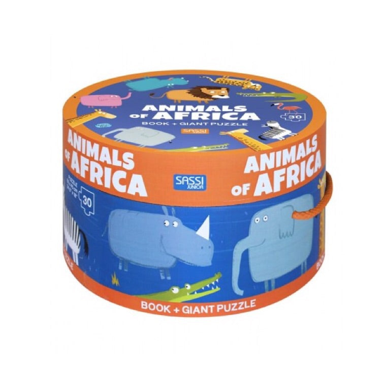 Giant Puzzle & Book - Animals of Africa - Rourke & Henry Kids Boutique