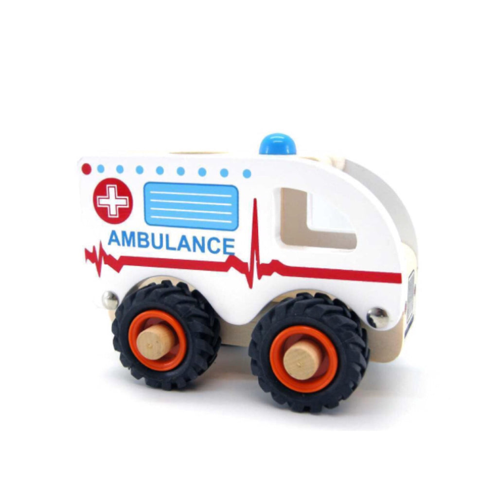 Wooden Vehicle - Ambulance - Rourke & Henry Kids Boutique