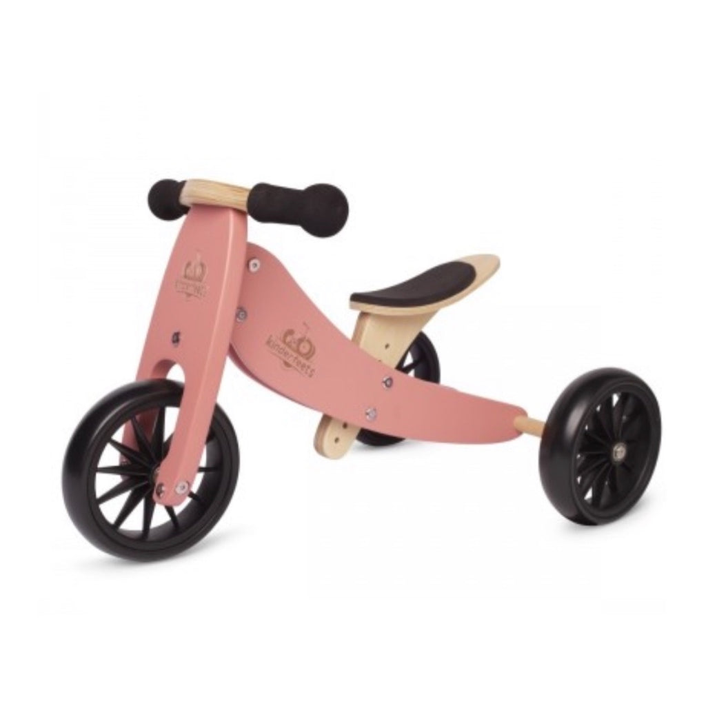 Kinderfeets - Trike & Bike Combo NEW Coral Pink
