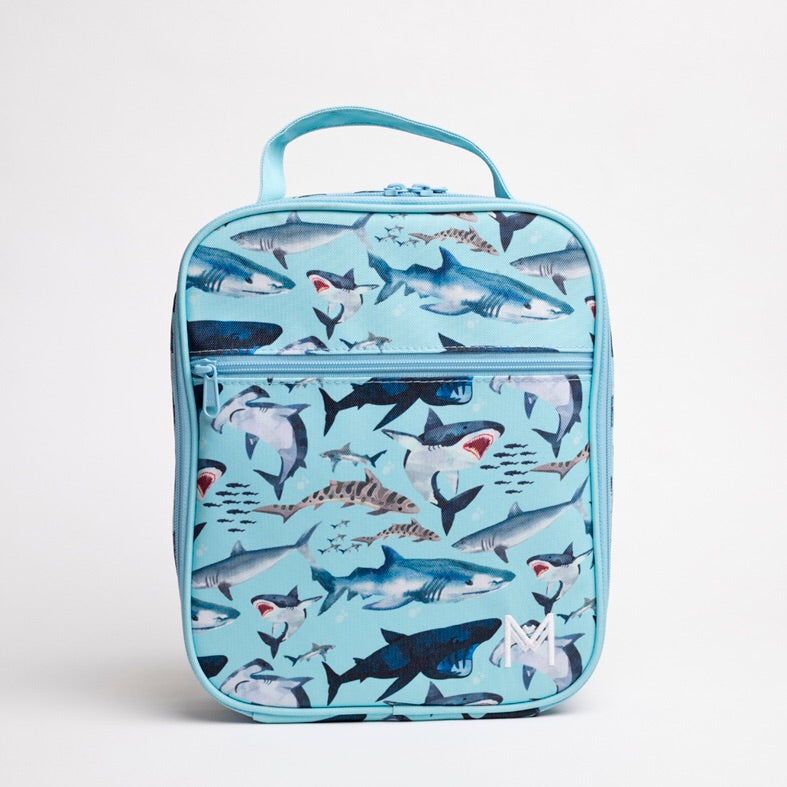 MontiiCo Insulated Lunch Bag - Shark - Rourke & Henry Kids Boutique