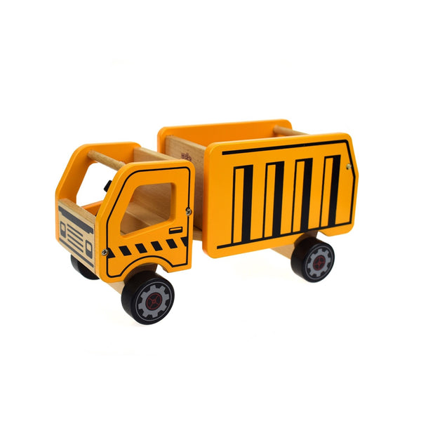 Wooden Vehicle Large - Dump Truck