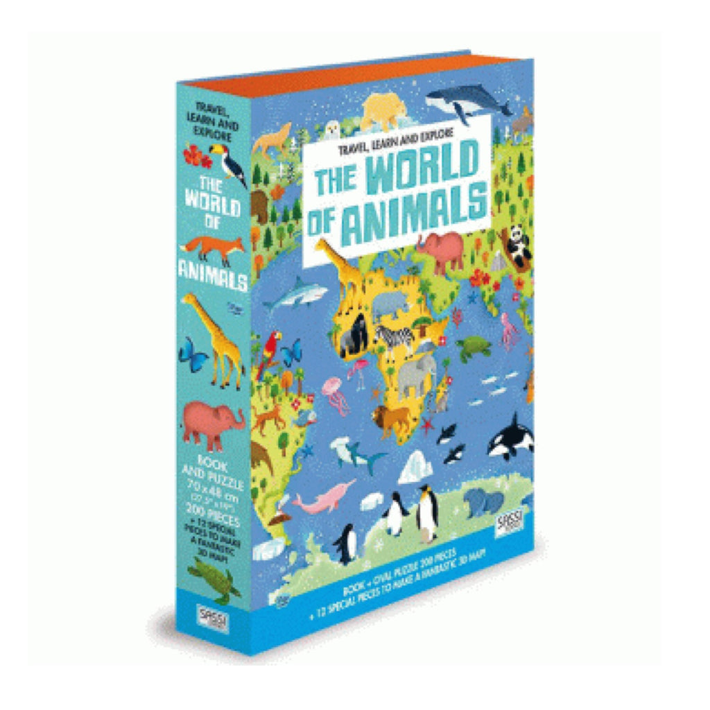 Learn and Explore Puzzle - The World of Animals