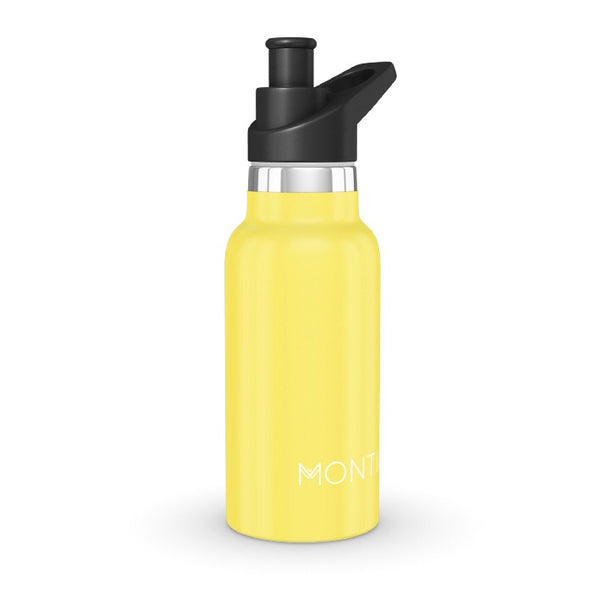 MontiiCo Insulated Drink Bottle - Mini 350ml Yellow