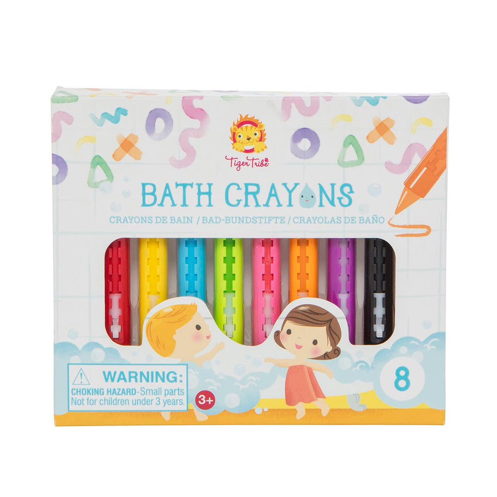 TIGER TRIBE Bath Toy - Bath Crayons - Rourke & Henry Kids Boutique
