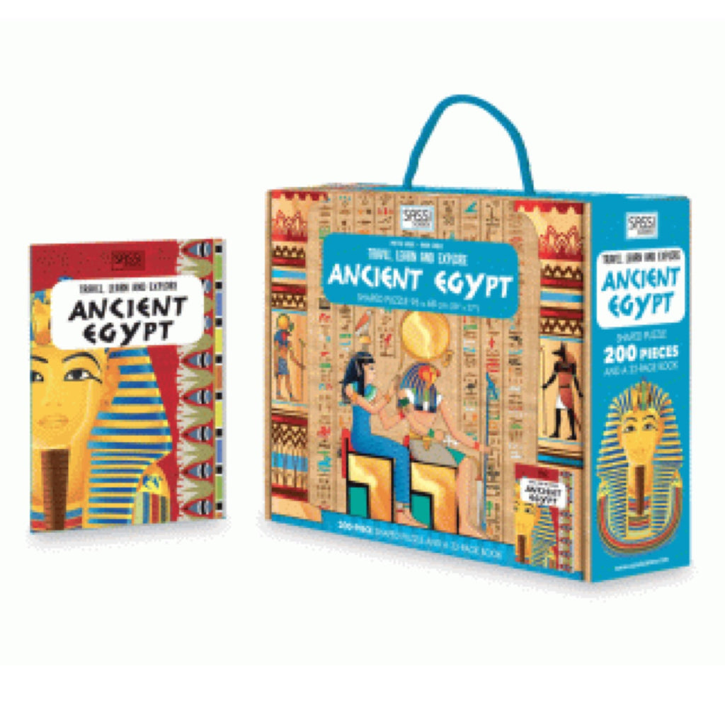 Learn and Explore Puzzle - Ancient Egypt - Rourke & Henry Kids Boutique
