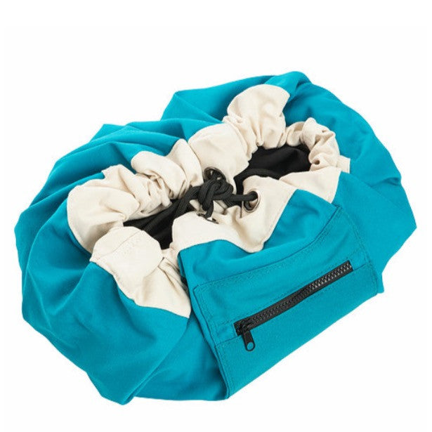 PLAY POUCH - Mini Pouch Ocean Blue - Rourke & Henry Kids Boutique