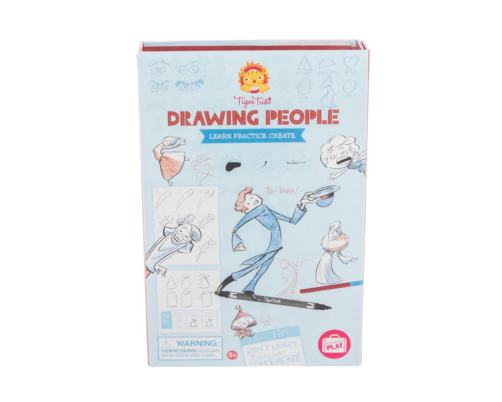 TIGER TRIBE How to Draw - Drawing People - Rourke & Henry Kids Boutique