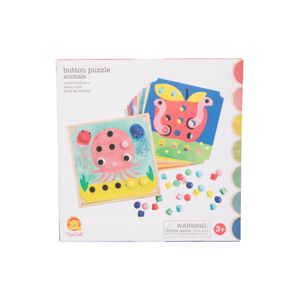 TIGER TRIBE - Button Puzzle Animals