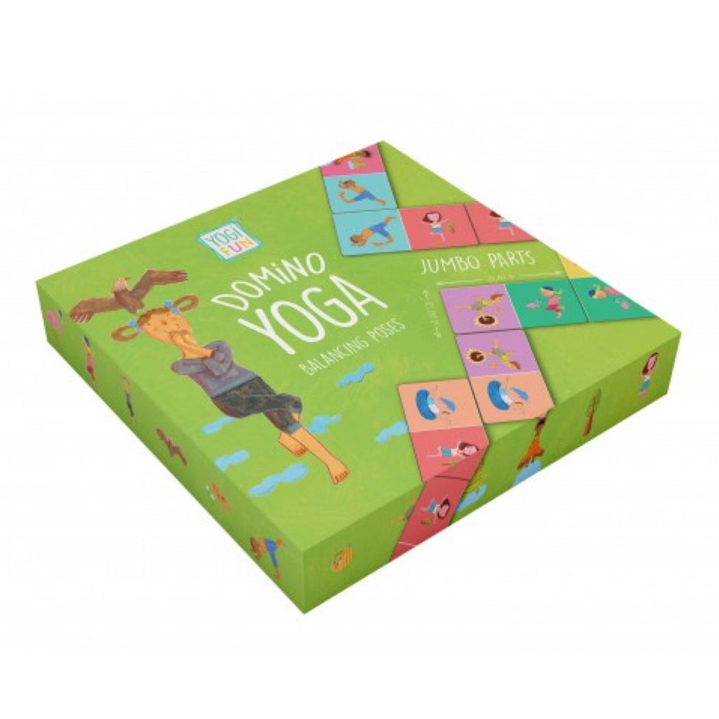 Yoga - Yogi Fun Dominoes JUMBO - Rourke & Henry Kids Boutique