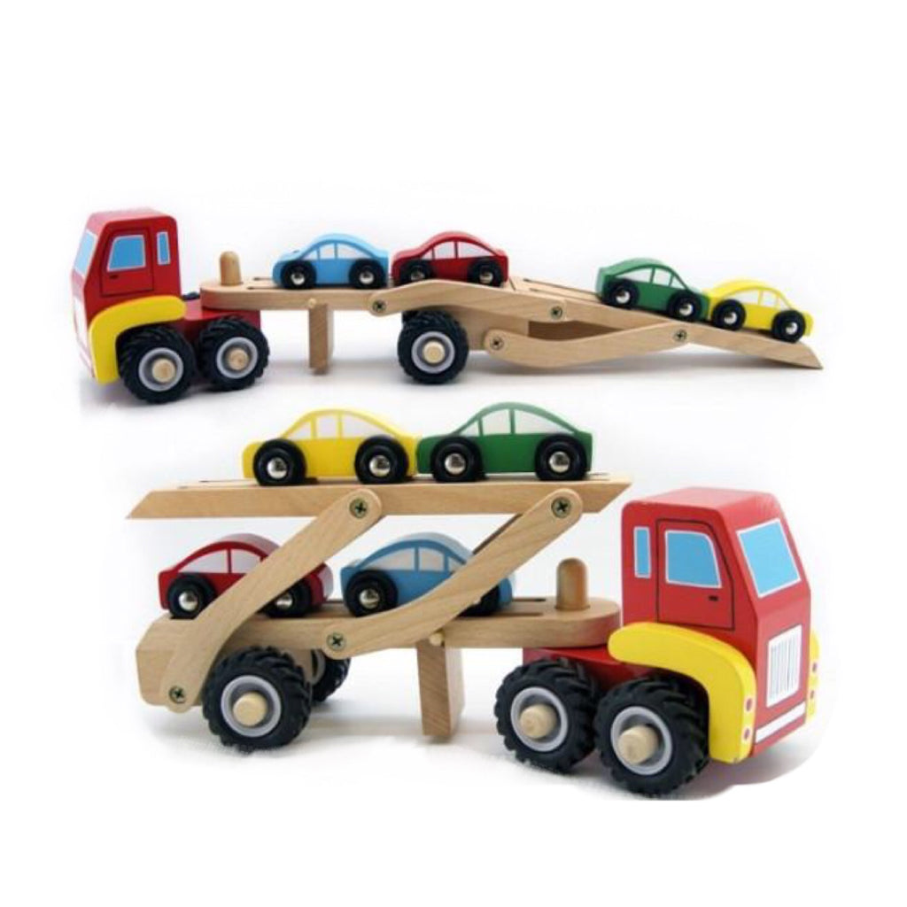 Wooden Car Carrier - Rourke & Henry Kids Boutique