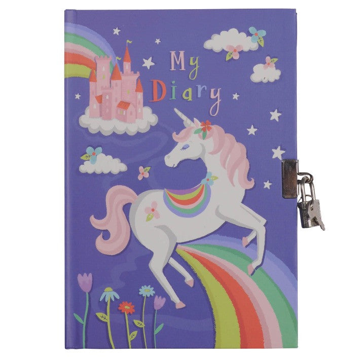 Tiger Tribe Lockable Diary - Unicorn - Rourke & Henry Kids Boutique