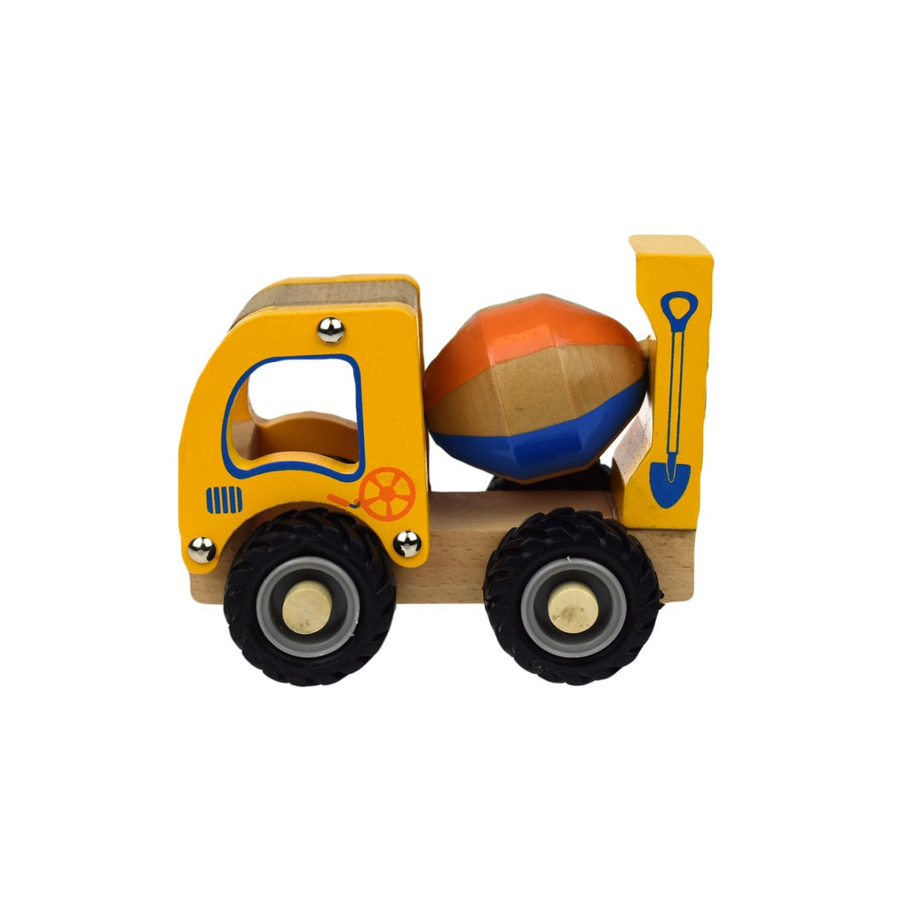 Wooden Vehicle - Cement Mixer - Rourke & Henry Kids Boutique