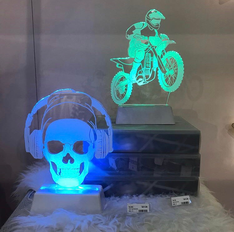 Dream Light – Skull - Rourke & Henry Kids Boutique