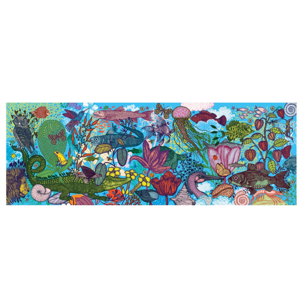 Djeco Puzzle - Land and Sea 1000 piece - Rourke & Henry Kids Boutique