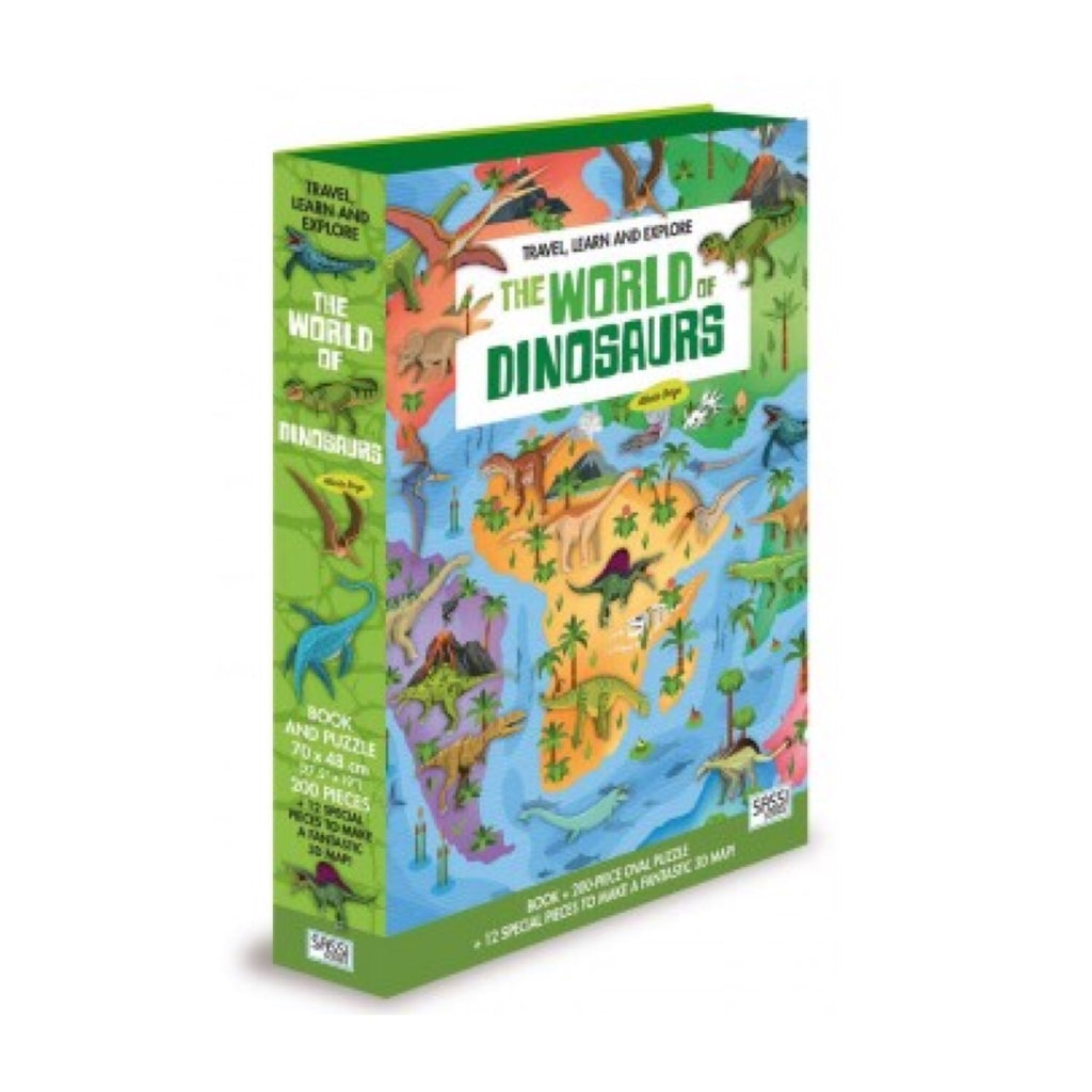 Learn and Explore Puzzle - The World of Dinosaurs