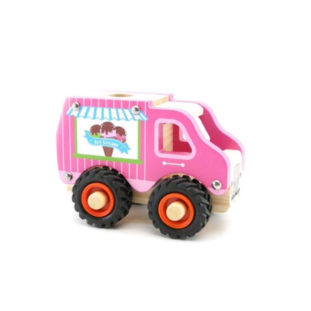 Wooden Vehicle - Ice Cream Truck - Rourke & Henry Kids Boutique