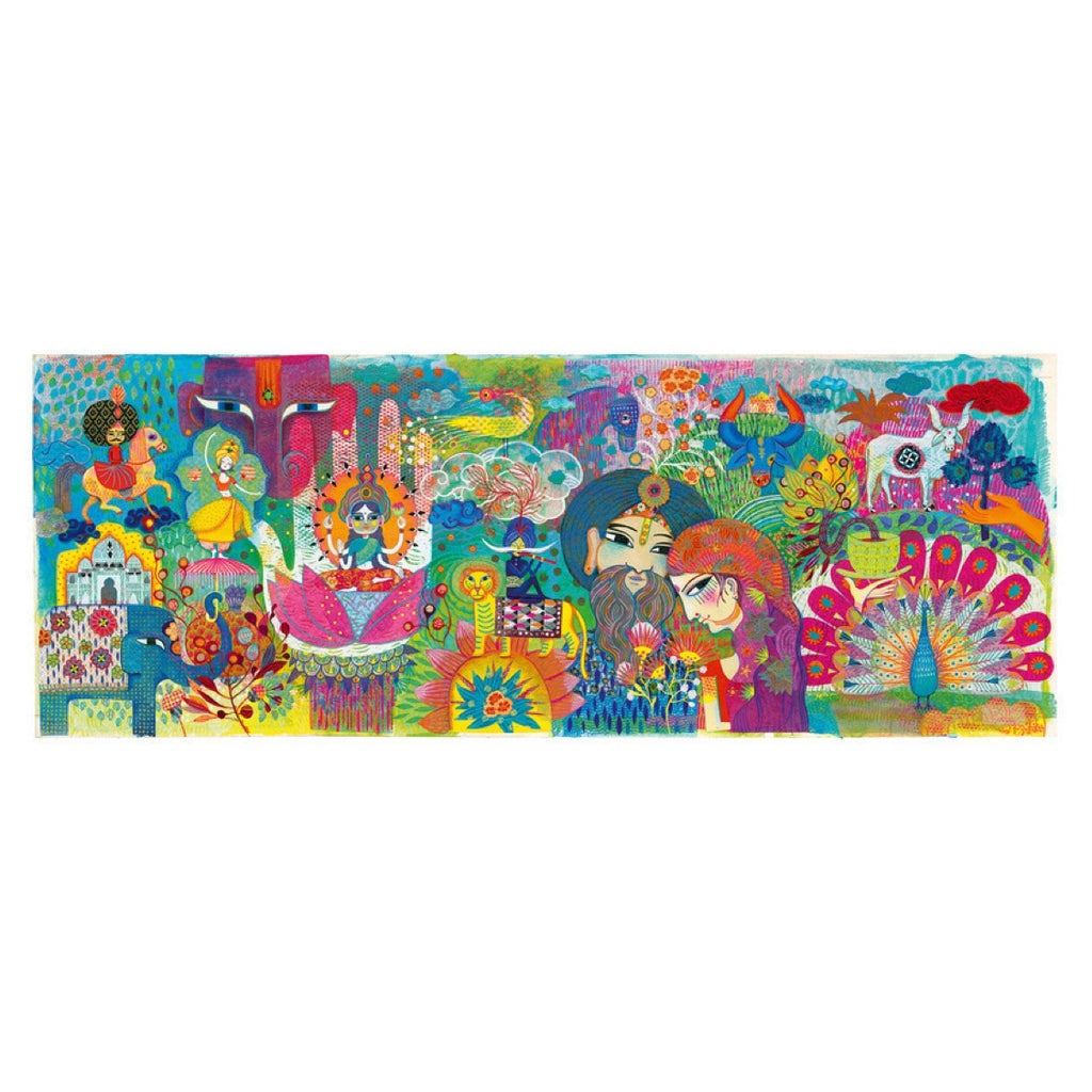 Djeco Puzzle - Magic India 1000 piece