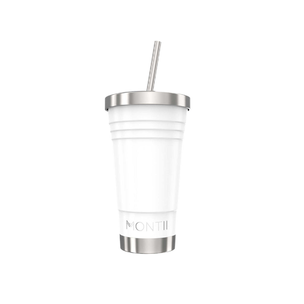 MontiiCo Insulated Smoothie Cup Original - 450ml White