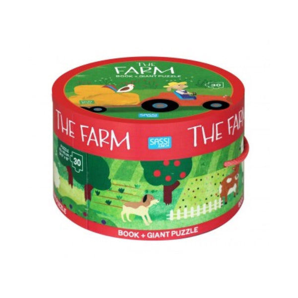 Giant Puzzle & Book - The Farm - Rourke & Henry Kids Boutique