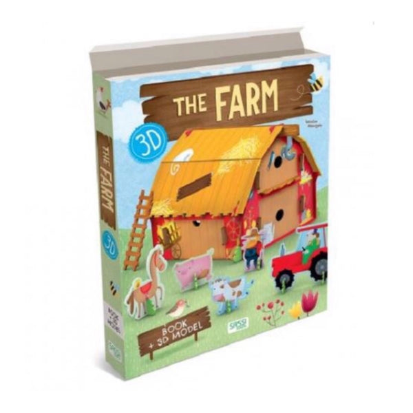 Book & 3D Model  - The Farm - Rourke & Henry Kids Boutique