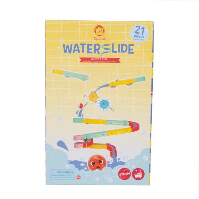 TIGER TRIBE Bath Toys - Waterslide Marble Run - Rourke & Henry Kids Boutique