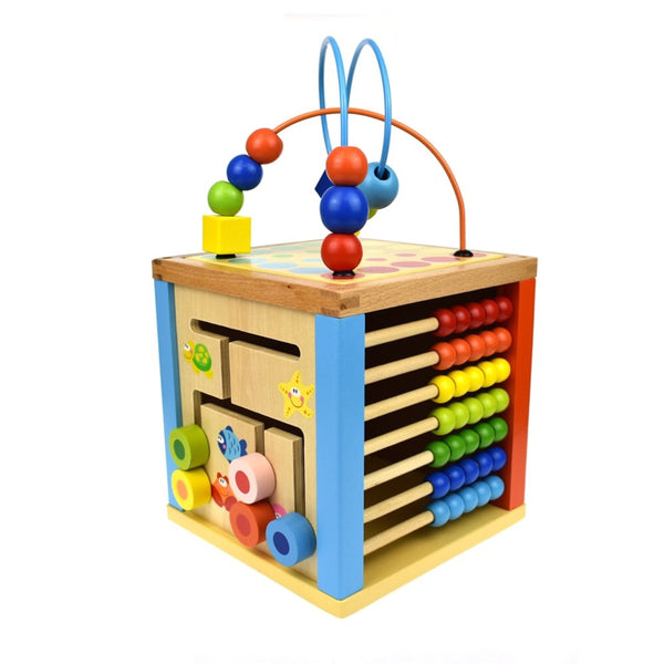 5 in 1 Play Activity Cube - Rourke & Henry Kids Boutique