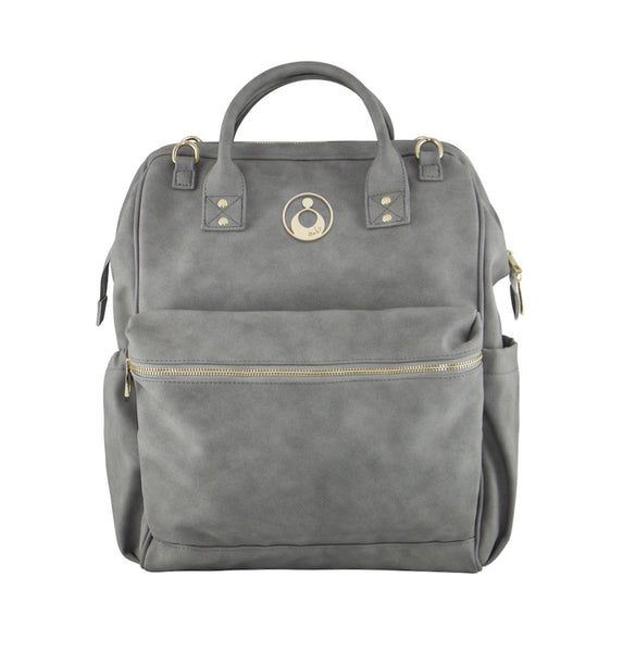 Isoki Nappy Bag Byron Backpack - Stone
