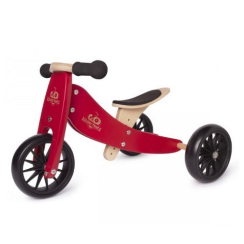 Kinderfeets - Trike & Bike Combo NEW Cherry Red