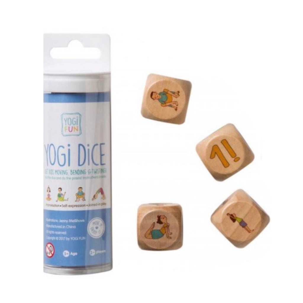 Yoga - Yogi Fun Dice - Rourke & Henry Kids Boutique
