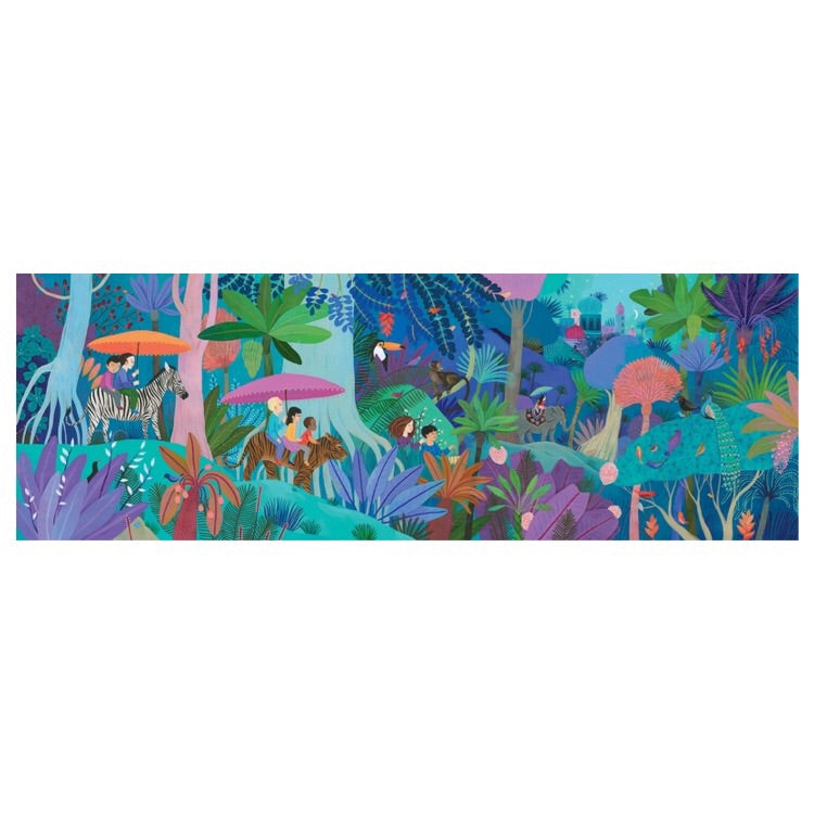 Djeco Puzzle - Children's Walk 200 piece - Rourke & Henry Kids Boutique