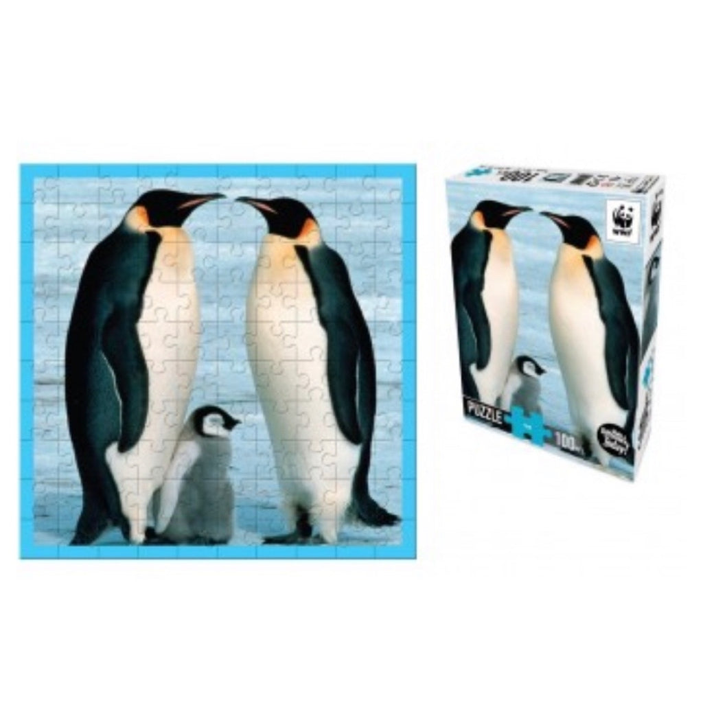 WWF Puzzle - 100 piece Penguins