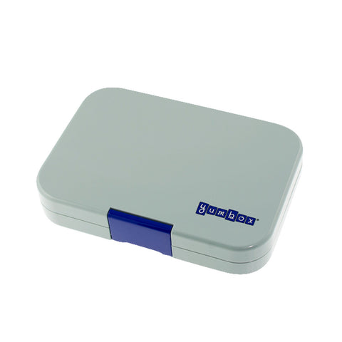 YUMBOX Tapas 4 compartment - Flat Iron Grey