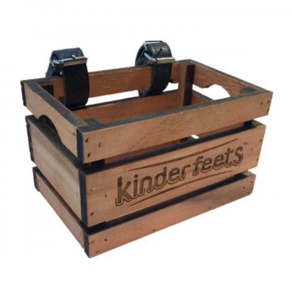 Kinderfeets - Wooden Crate - Rourke & Henry Kids Boutique