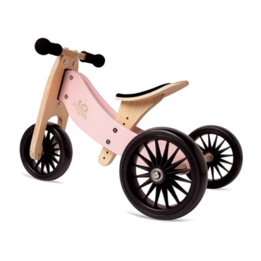 Kinderfeets PLUS - Trike & Bike Combo Rose Pink - Rourke & Henry Kids Boutique