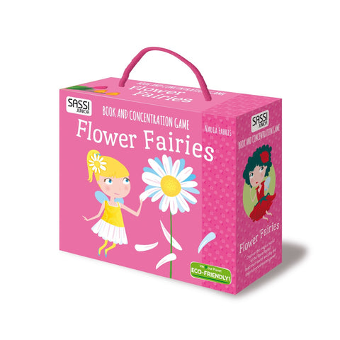 Book & Concentration Game - Flower Fairies