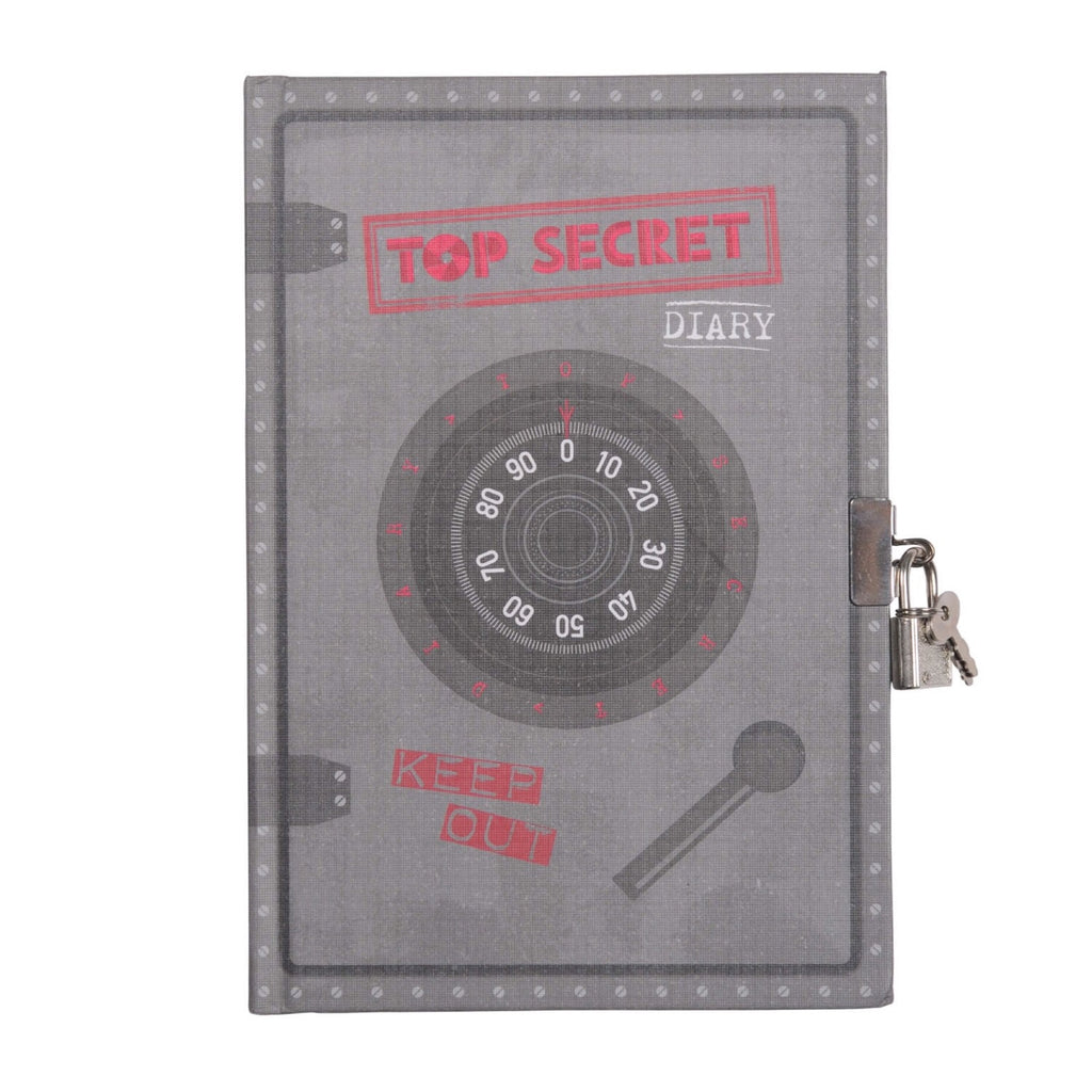 Tiger Tribe Lockable Diary - Top Secret - Rourke & Henry Kids Boutique