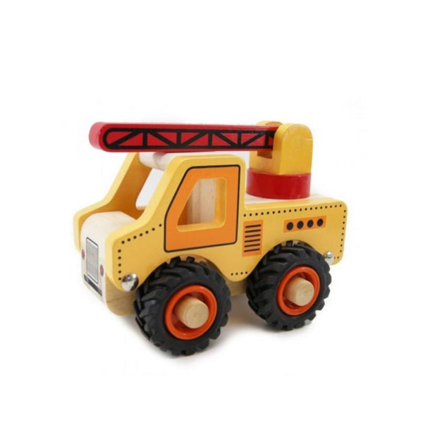 Wooden Vehicle - Crane - Rourke & Henry Kids Boutique