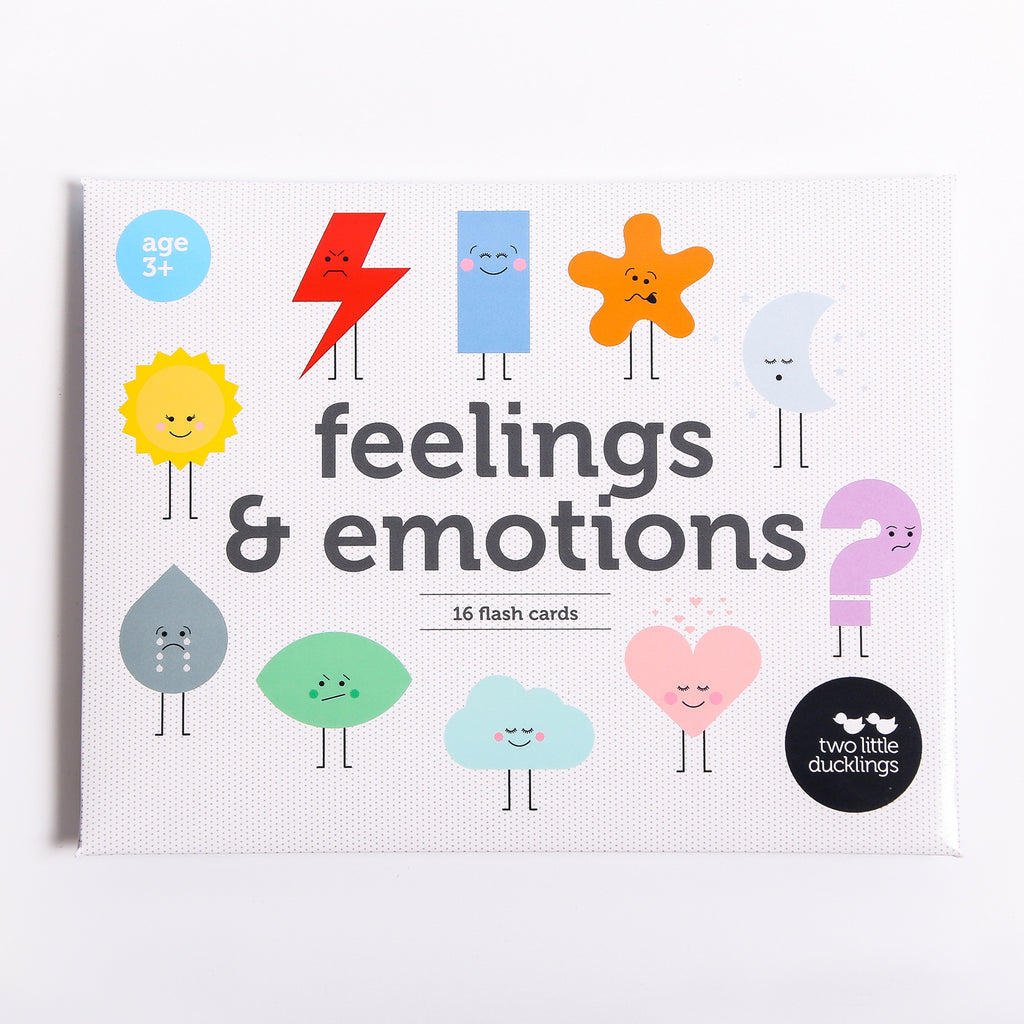 Two Little Ducklings Flash Cards - Feelings & Emotions - Rourke & Henry Kids Boutique