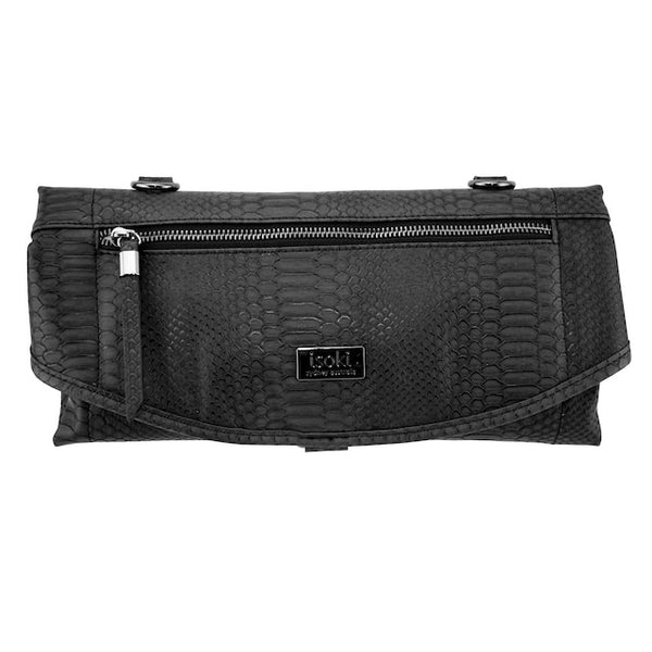 Adelaide Change Mat Purse - Black Mumba - Rourke & Henry Kids Boutique