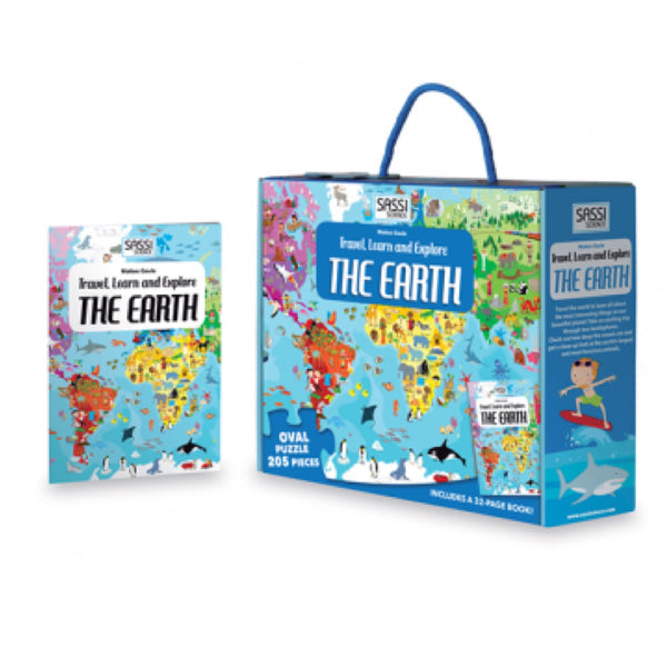 Learn and Explore Puzzle - The Earth - Rourke & Henry Kids Boutique