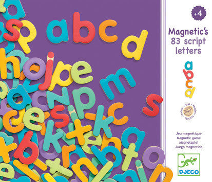 Djeco - Magnetic Alphabet Lower Case - Rourke & Henry Kids Boutique