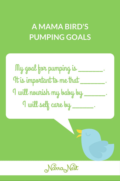 Breastmilk Pumping Goals