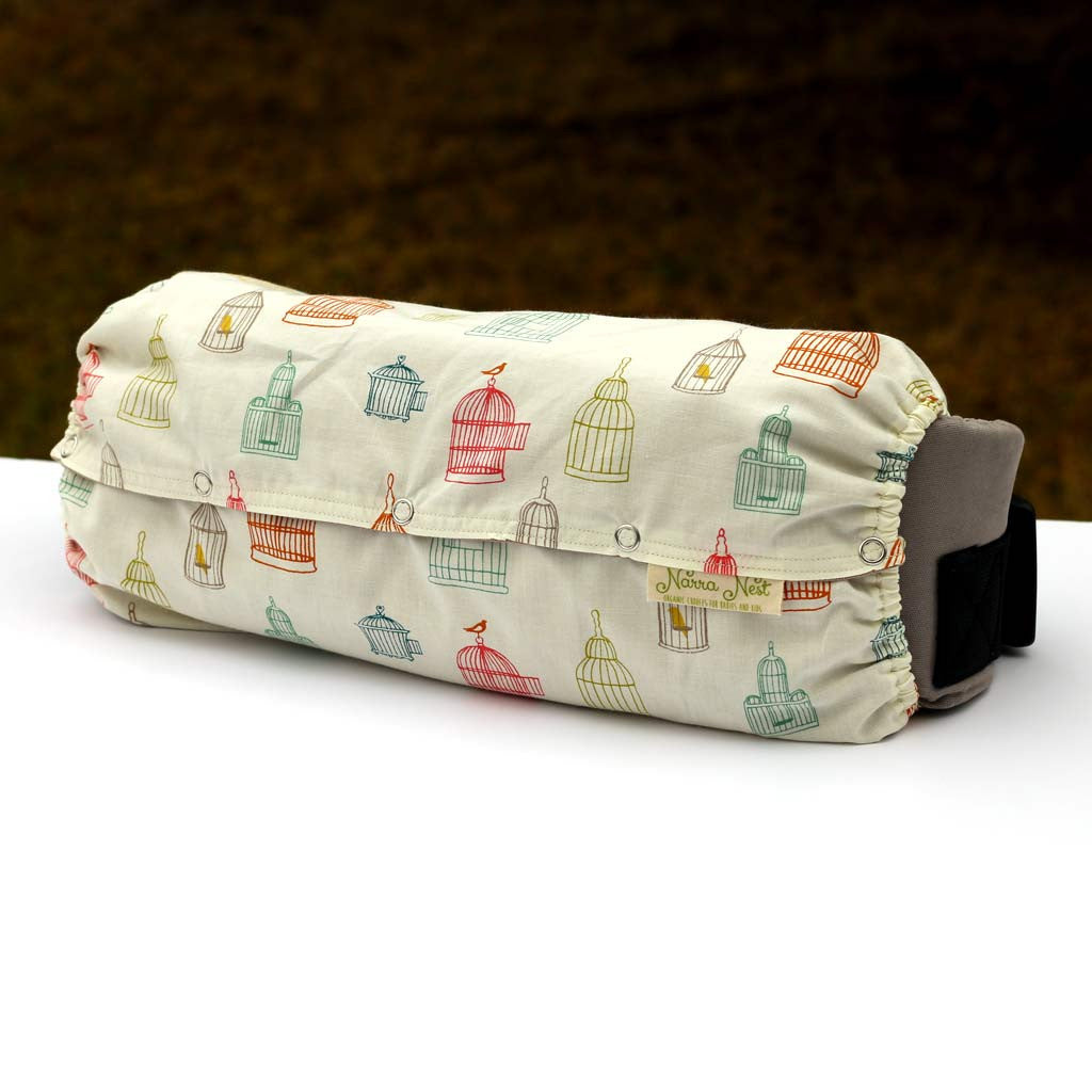 carrier bag storage. organic baby carrier bag in bird song - narra nest 1 storage