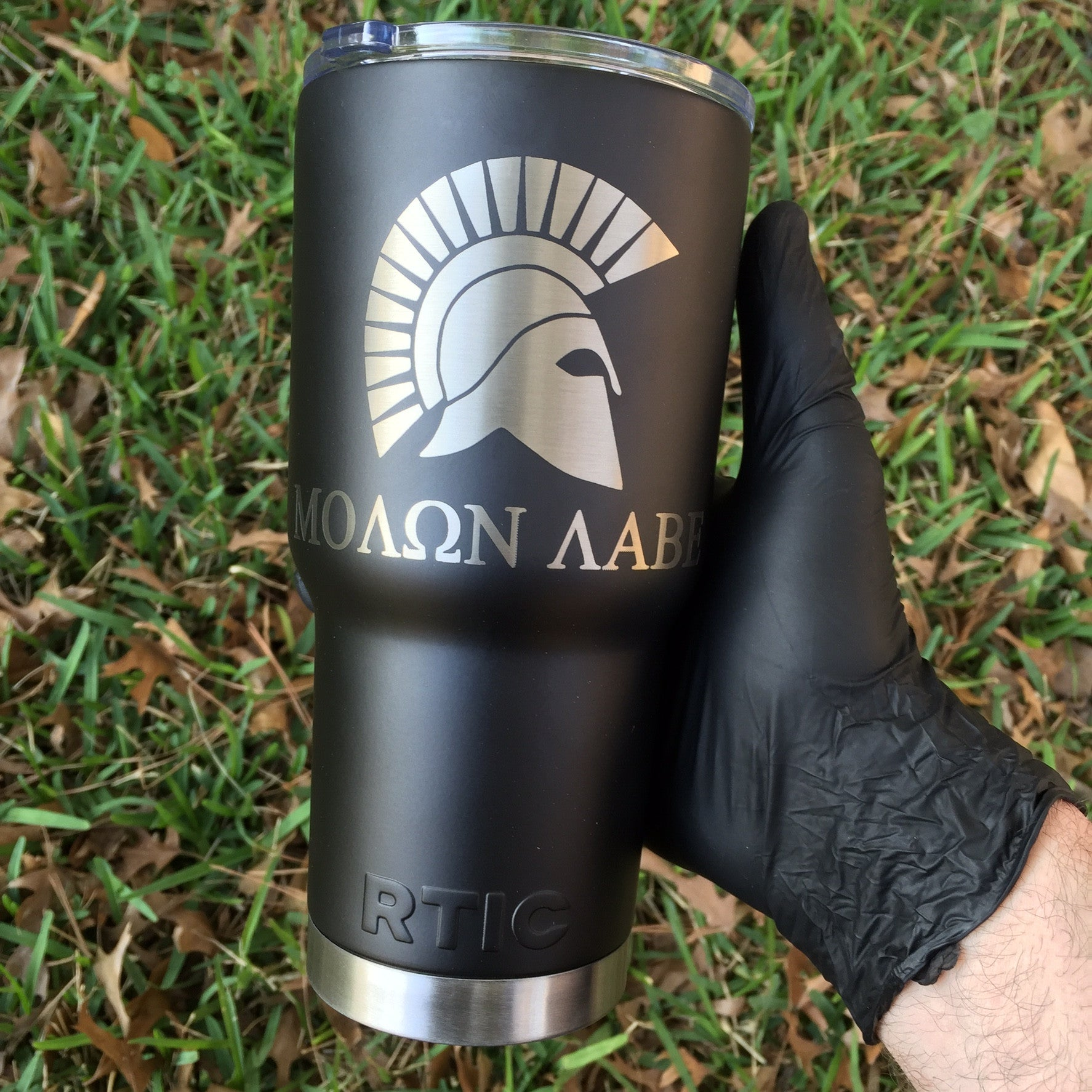 Powder Coated/Laser Engraved RTIC Tumblers