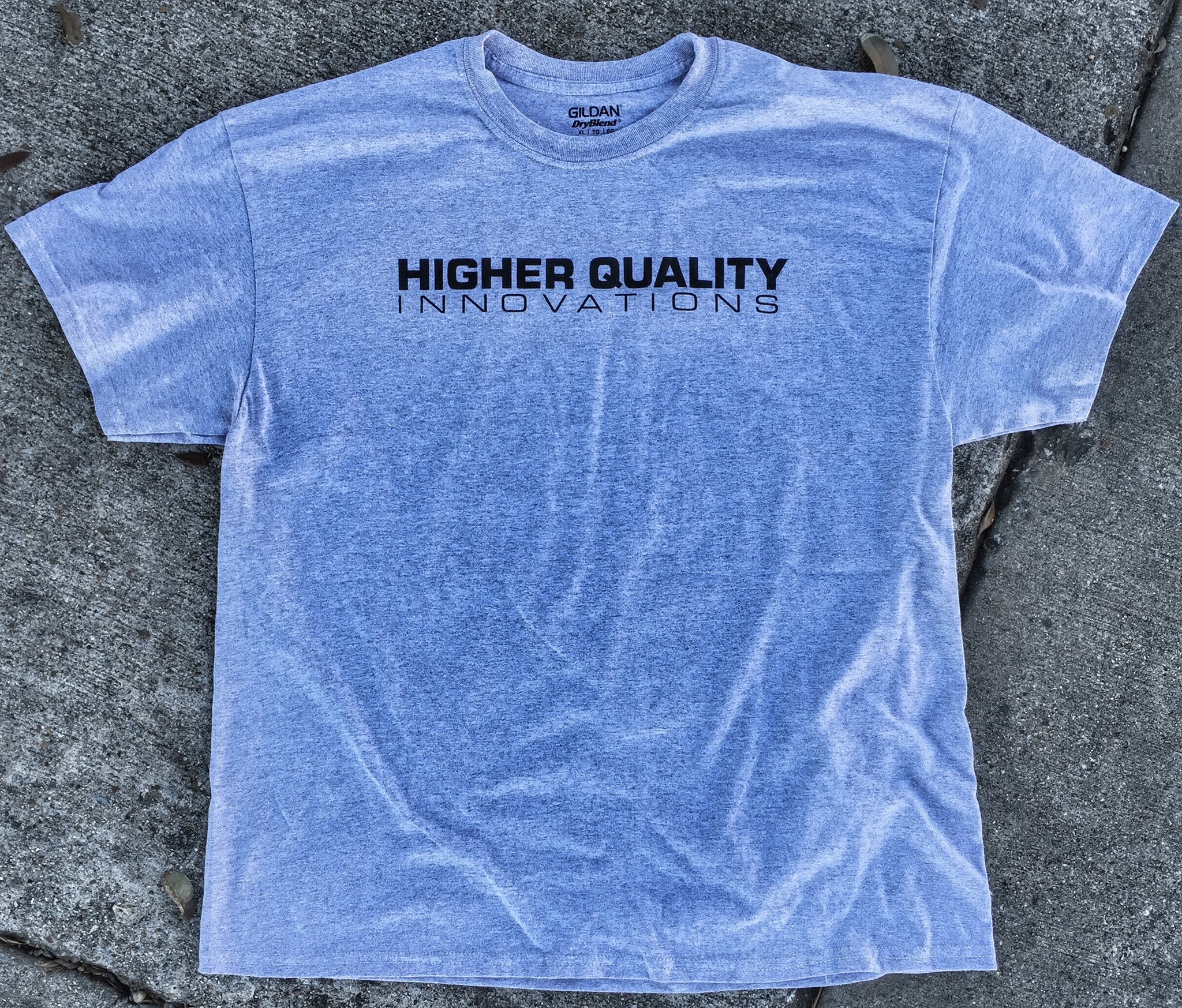 HIGHER QUALITY T-SHIRT (Light Grey)