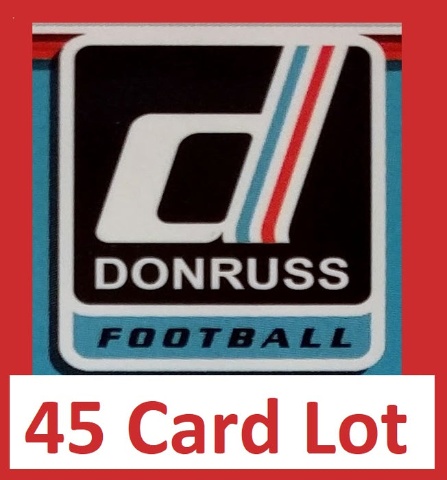 Willie Roaf 2017 Donruss Football 45 Card Lot New Orleans Saints #101