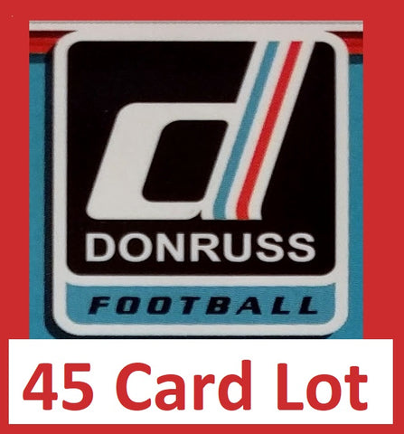 Donte Moncrief 2017 Donruss Football 45 Card Lot Indianapolis Colts #226