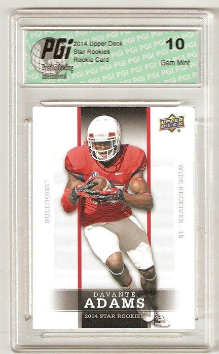 Davante Adams 2014 Upper Deck #36 SP Star Rookie Card PGI 10
